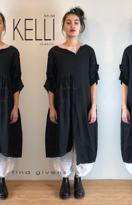 KELLI  DRESS TG-A9116