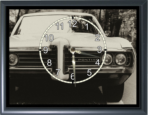 1960's Pontiac Front End Desk or Wall  Clock1