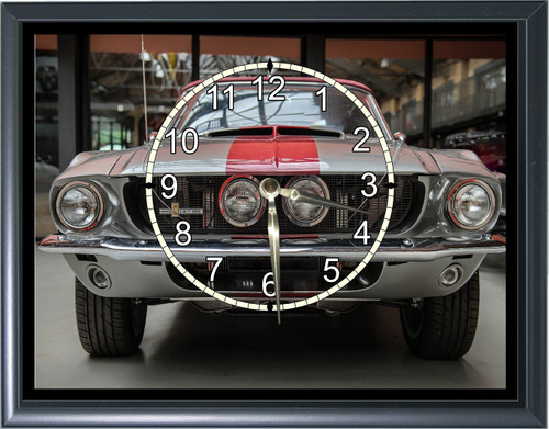 Shelby Mustang GT350 Desk or Wall  Clock1