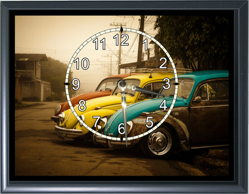 Volkswagen VW Bugs Desk or Wall  Clock  Picture1