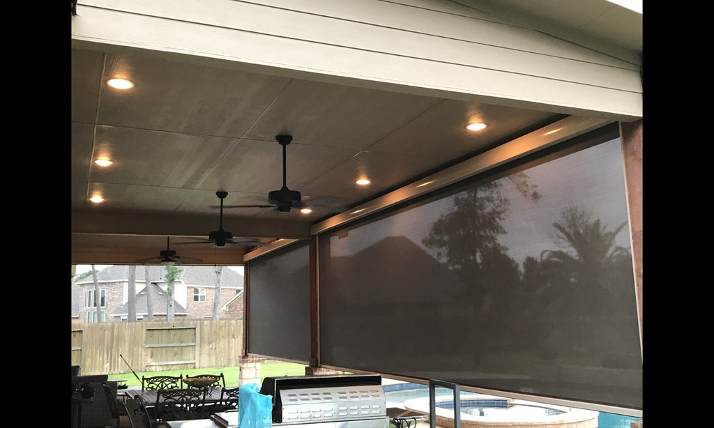 Roll Up Exterior Shades