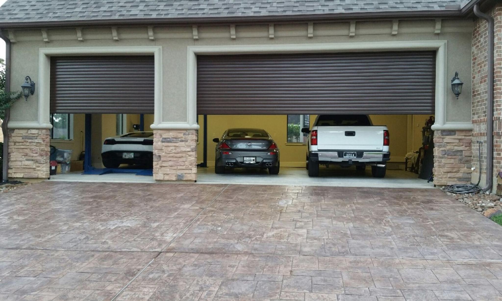 Tubular Motors And Roll Up Garage Doors