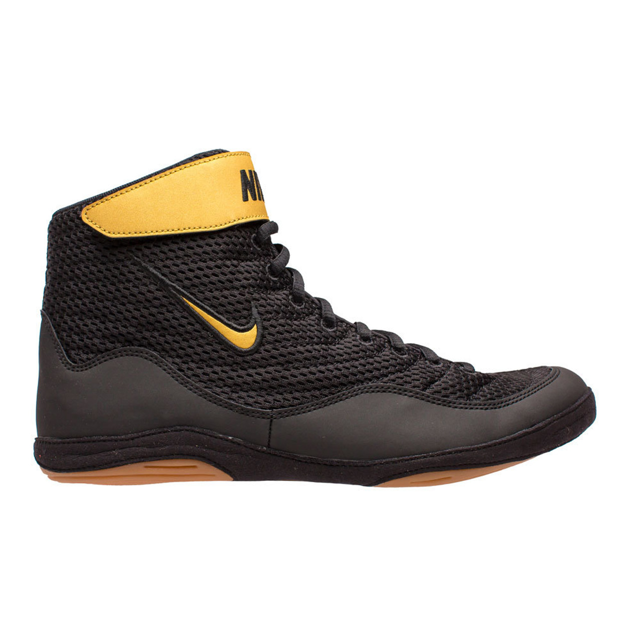 save off 37b1b 8a830 Nike Inflict 3 Training Boots Black Gold ...