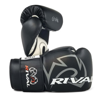 White Rival Boxing RB1 2.0 Ultra Hook and Loop Bag Gloves