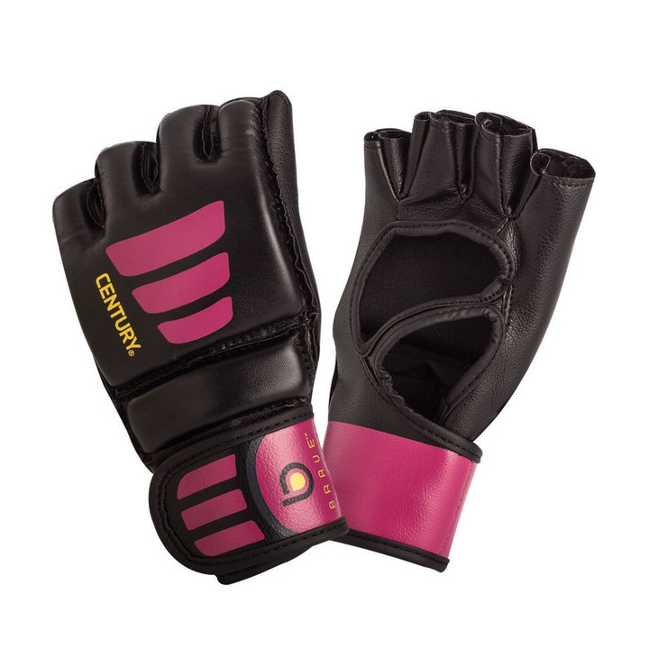 Century Brave Open Palm Ladies MMA Gloves Black/Purple