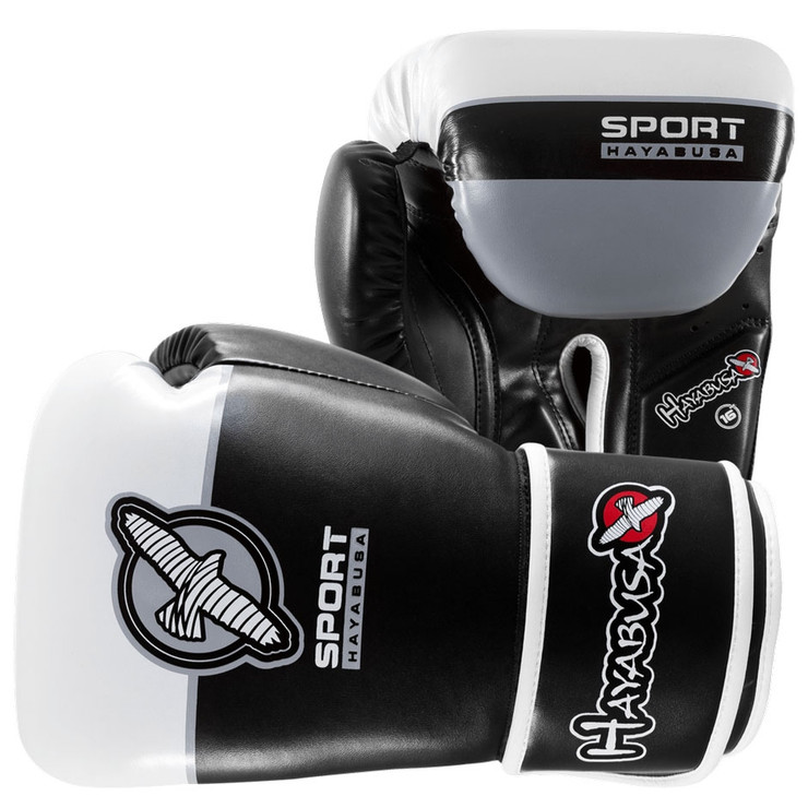Hayabusa 16oz Sport Mens Boxing Gloves Black