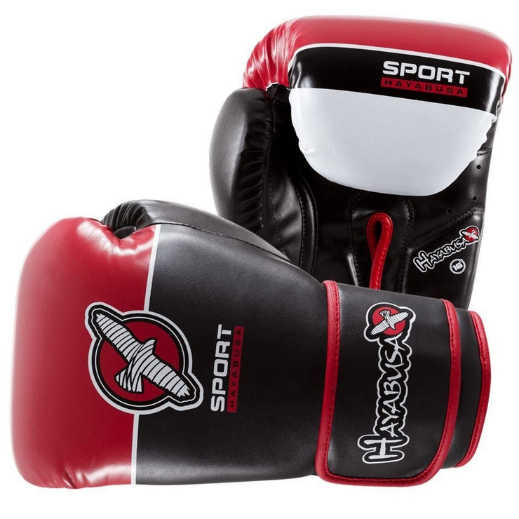Hayabusa 16oz Sport Mens Boxing Gloves Red