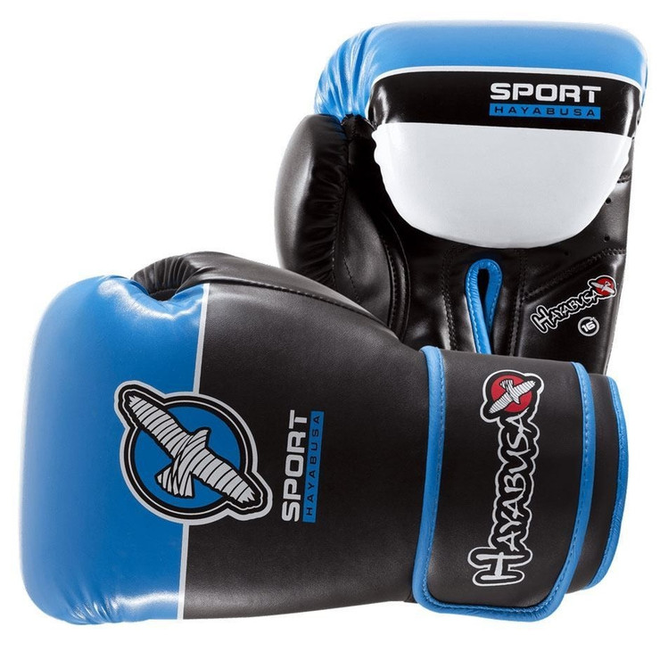Hayabusa 16oz Sport Mens Boxing Gloves Blue