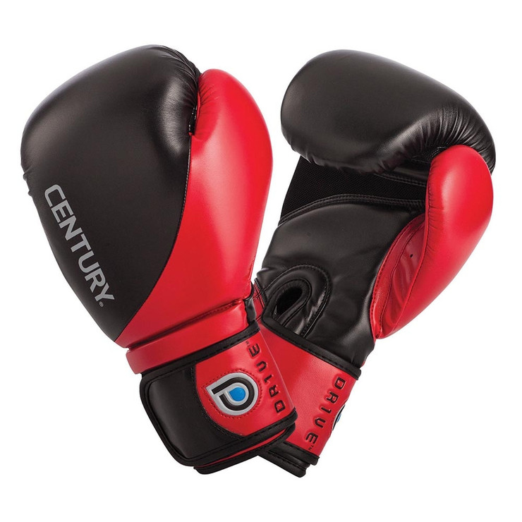 Century Drive Mens Boxing Gloves Black/Red