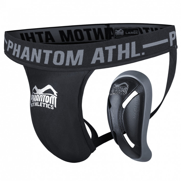 Phantom Vector Mens Groin Guard Black