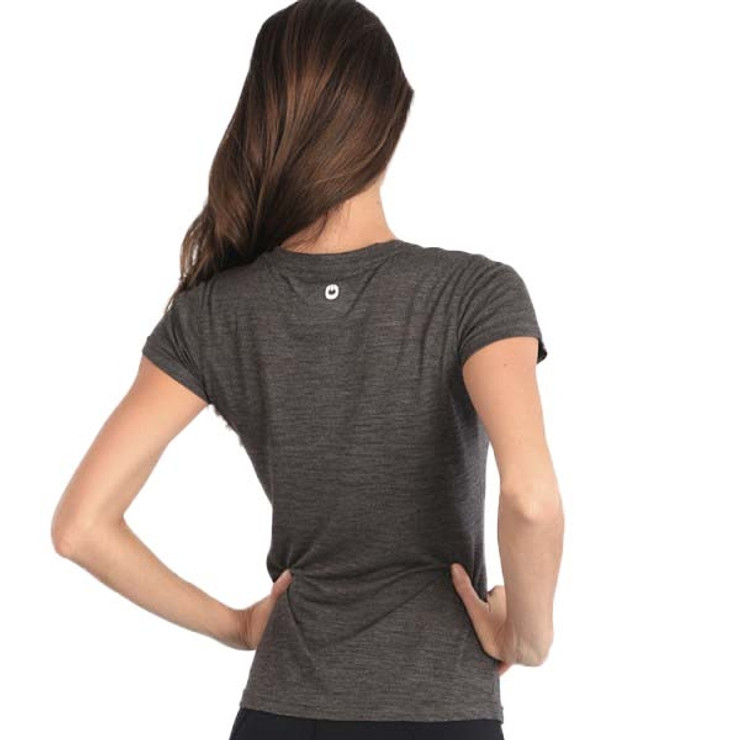 Gr1ps Athletics Weights Ladies T Shirt Grey