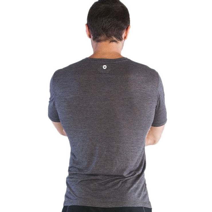 Grips Athletics Baseline Mens T Shirt Grey