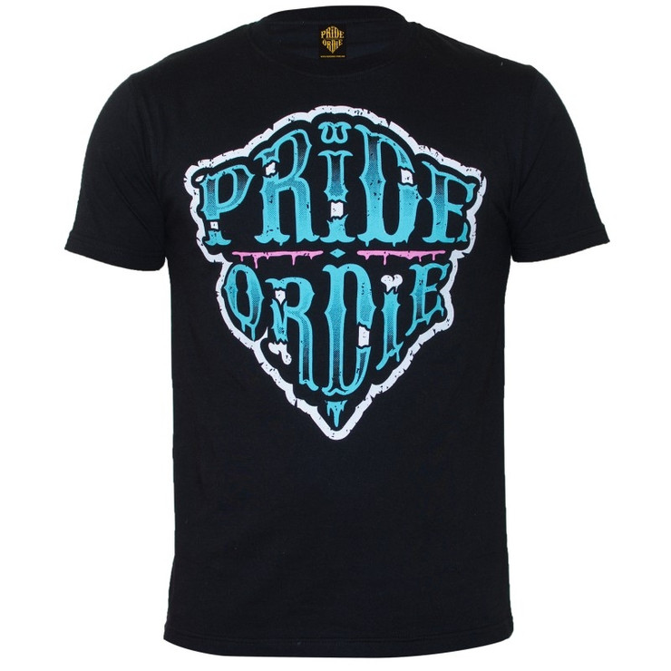 Pride or Die Zombie Camp Mens T Shirt Black