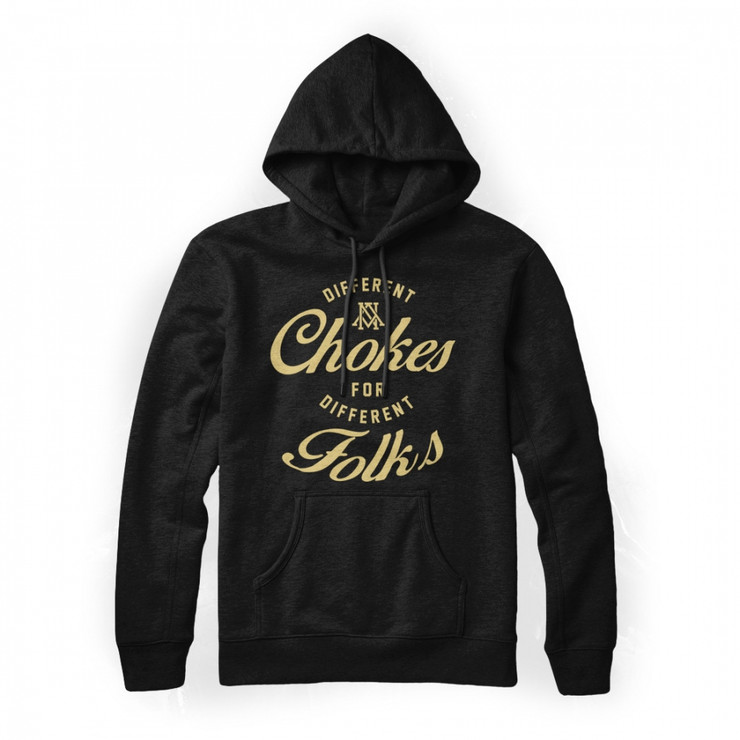 Newaza Different Chokes Mens Hoodie Black