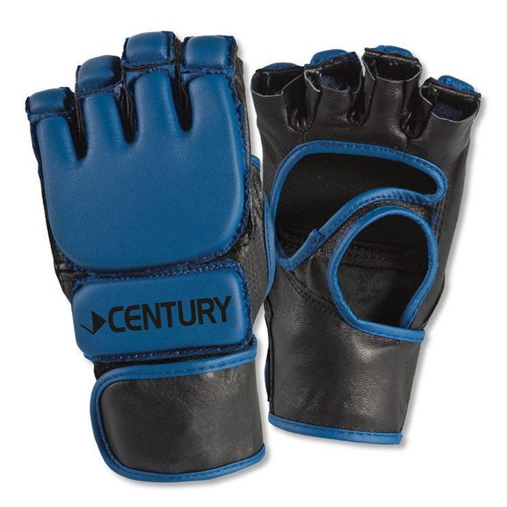 Century Open Palm Youth MMA Fight Gloves Blue