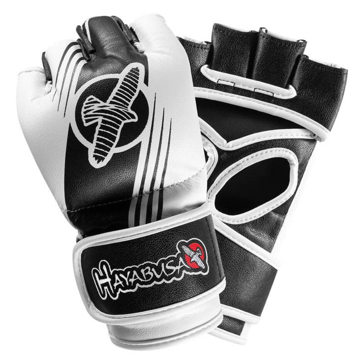 Hayabusa Ikusa Recast 4oz MMA Gloves Black/White