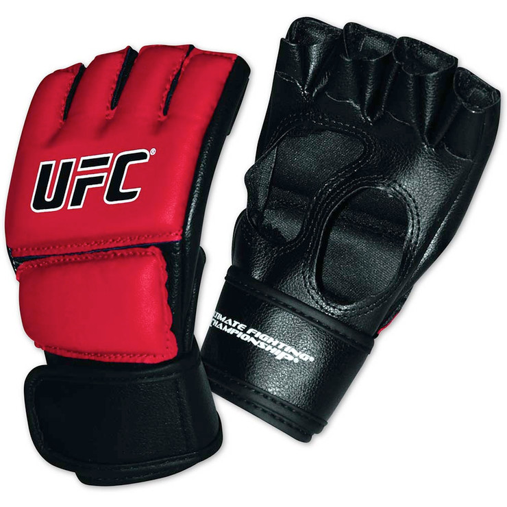 UFC Youth MMA Gloves Black/Red