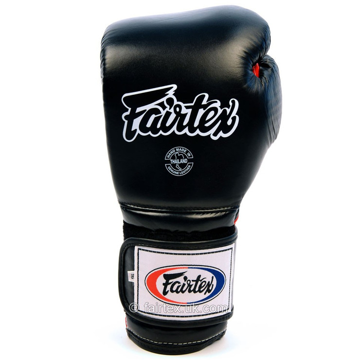 Fairtex BGV9 Mexican Boxing Gloves Black