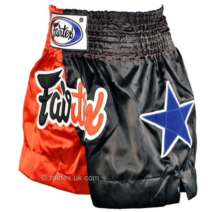 Fairtex Classic Muay Thai Shorts Red/Black