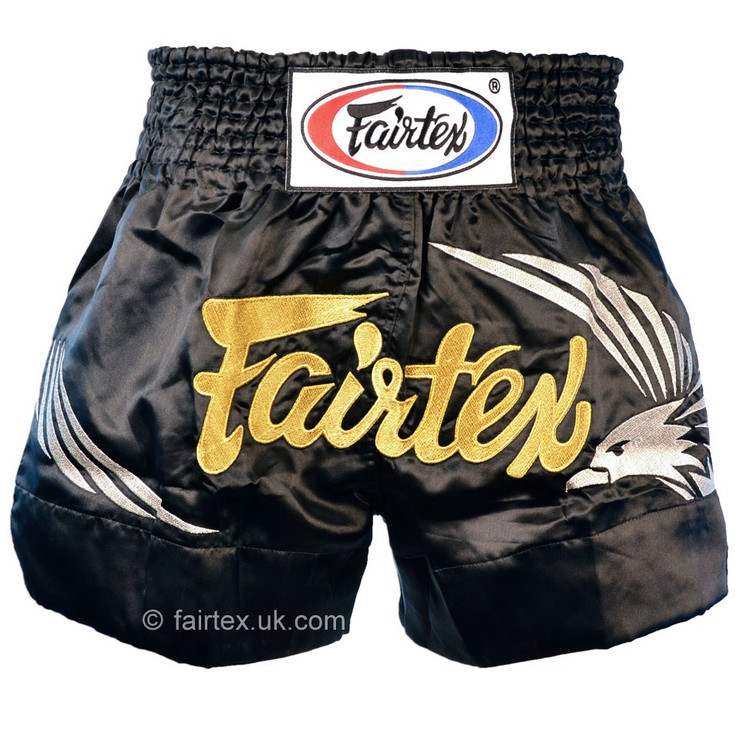 Fairtex King of the Sky Muay Thai Shorts Black