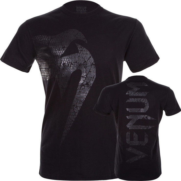 Venum Giant Mens T Shirt Matte Black