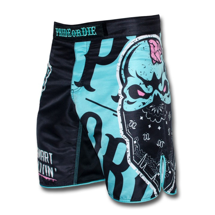 Pride or Die Zombie Camp Fight Shorts