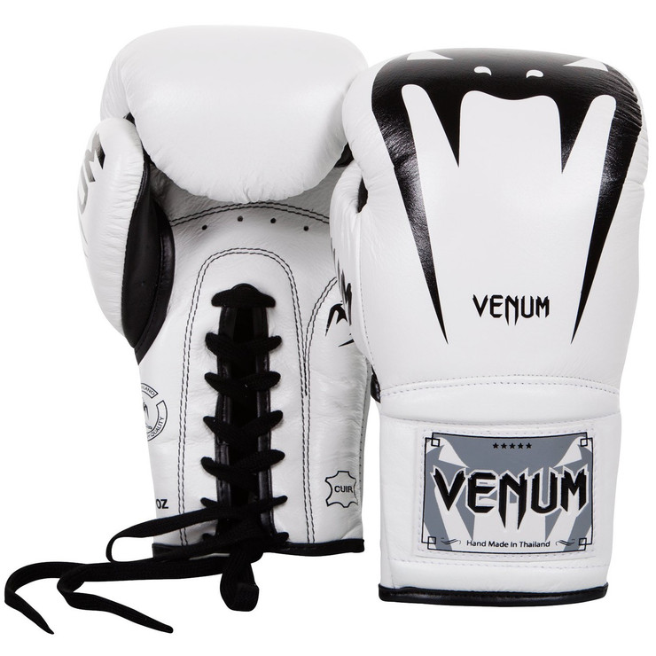 Venum Giant 3.0 Laced Boxing Gloves White