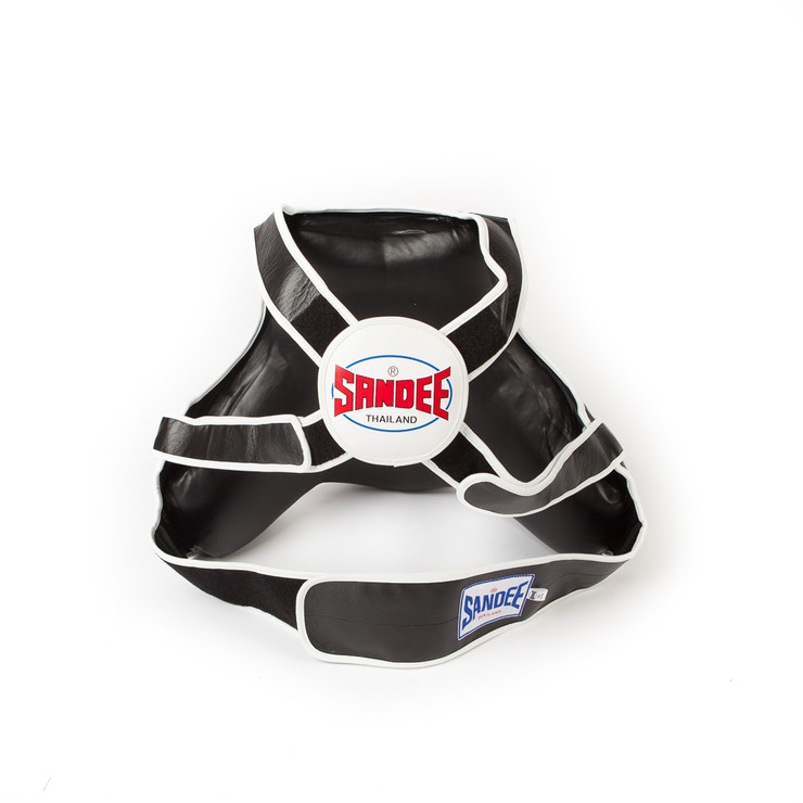 Sandee Leather Full Body Coaching Pad Black/White