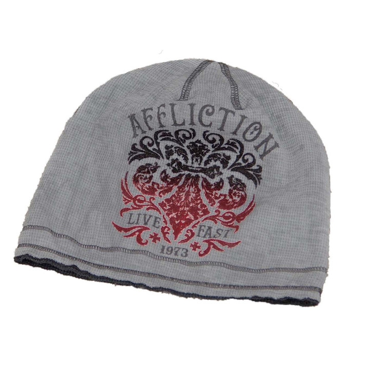 Affliction Truth And Consequence Reversible Beanie
