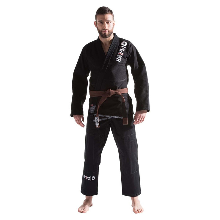 Grips Athletics Primero Evo BJJ Gi Black