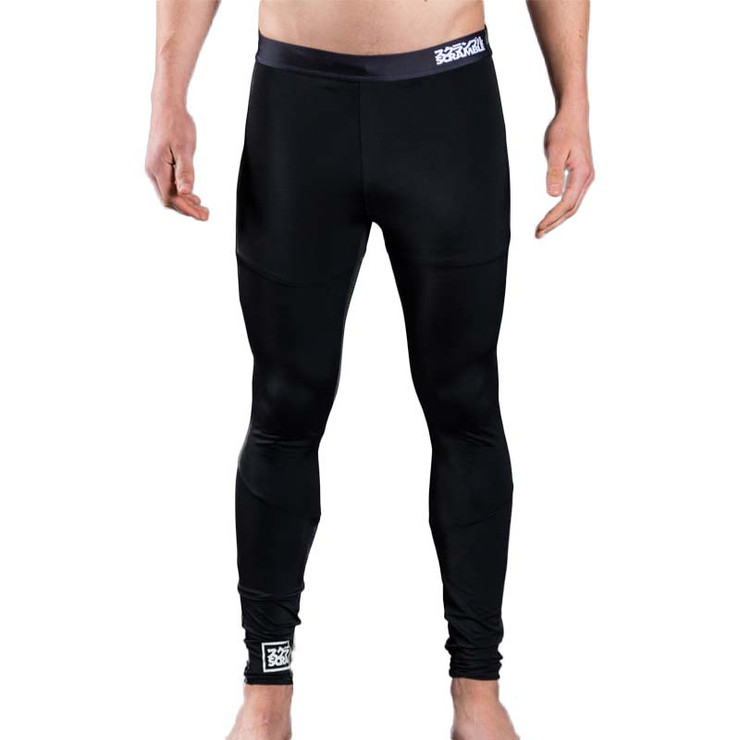 Scramble V3 Grappling Spats Black
