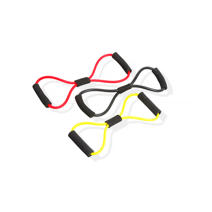 Bytomic Figure of 8 Resistance Bands With Handles