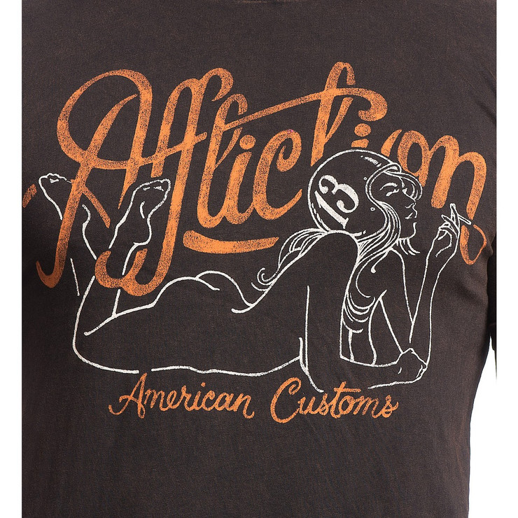 Affliction AC Smoking T-Shirt