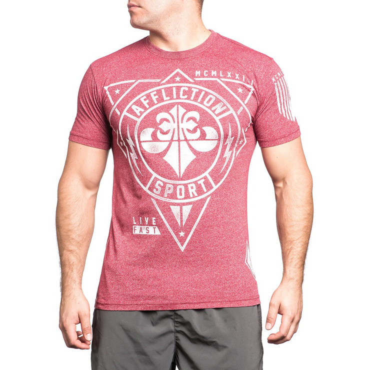 Affliction Geo Sport MT T-Shirt