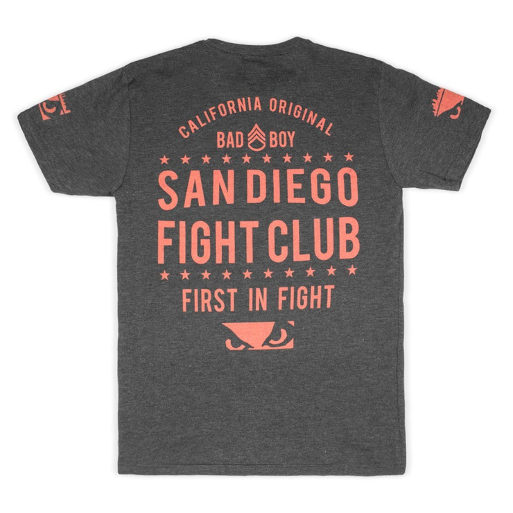 Bad Boy San Diego Fight Club T-Shirt