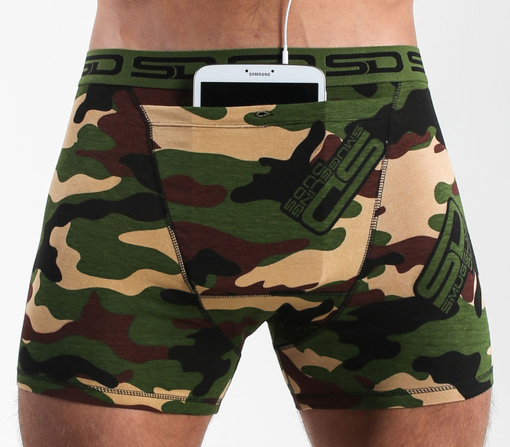 Smuggling Duds Jungle Camo Boxer Shorts