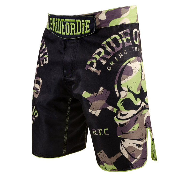 Pride Or Die Raw Training Camp Jungle Fight Shorts