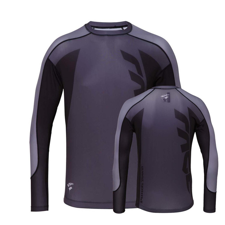 PunchTown Rage Long Sleeve Rashguard