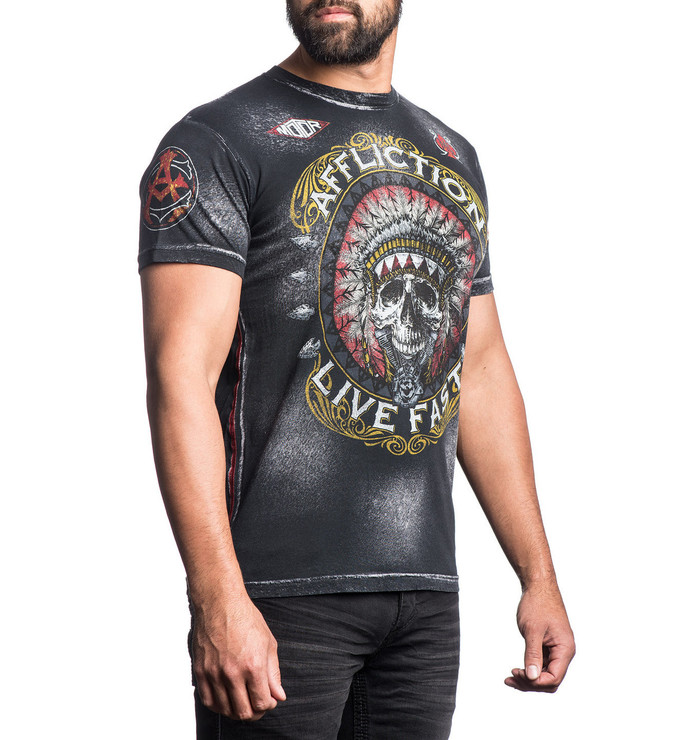 Affliction AC Wartorn T-Shirt