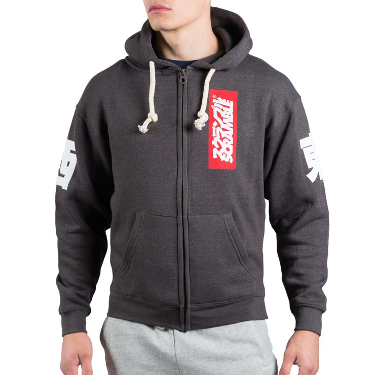 Scramble East West Zip Hoodie