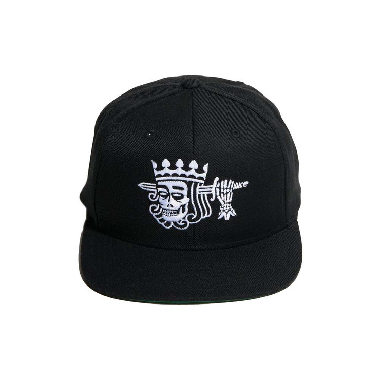 Dethrone Skull King Snapback Hat