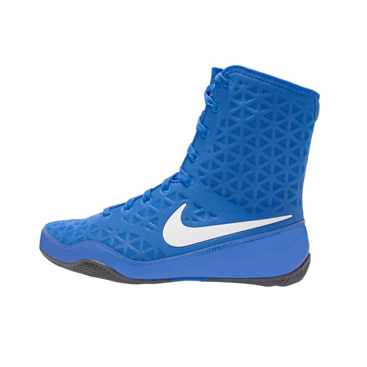 Nike KO Boxing Boots Blue/White