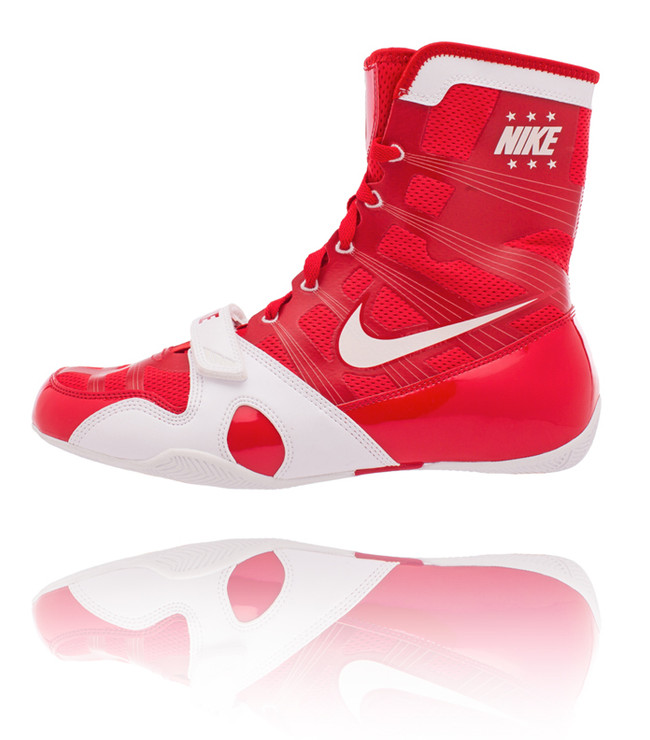 Nike Hyper KO Boxing Boots Red/White