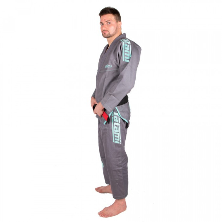 Tatami Fightwear Estilo 5.0 BJJ Gi Grey/Mint