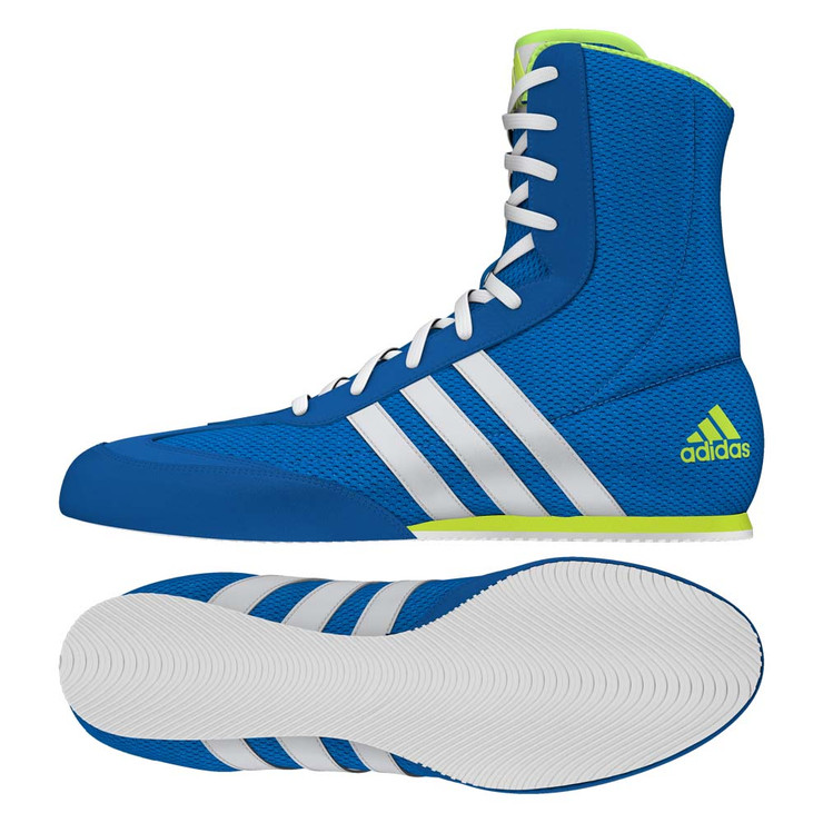 Adidas Box Hog 2 Boxing Boots Shock Blue