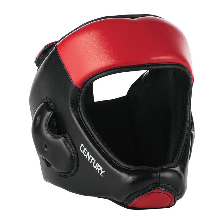 Century C-Gear Head Guard Black/Red