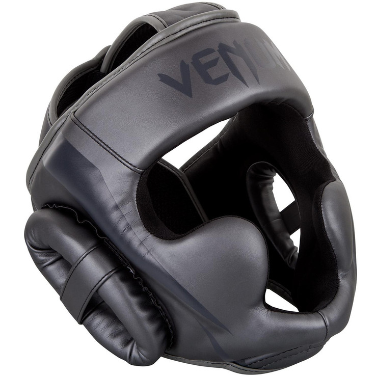 Venum Elite Head Guard Grey/Grey