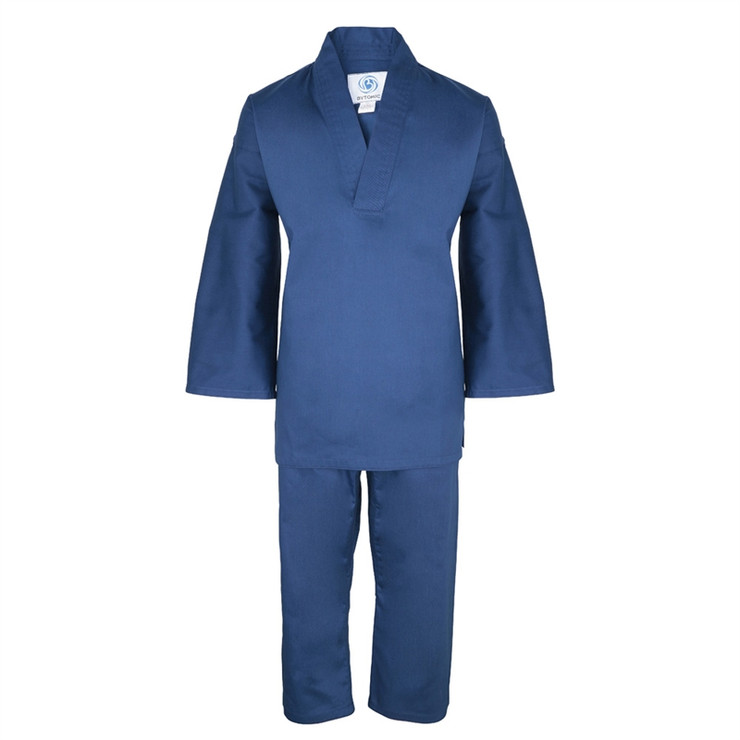 Bytomic Kids Blue V-Neck Martial Arts Uniform