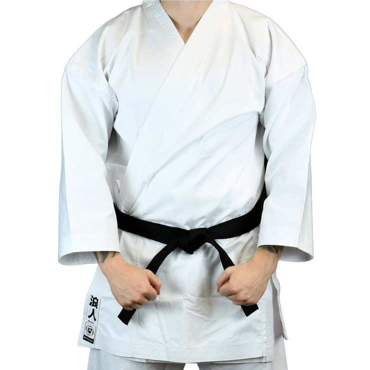 Bytomic Kids Ronin Middleweight Karate Uniform White