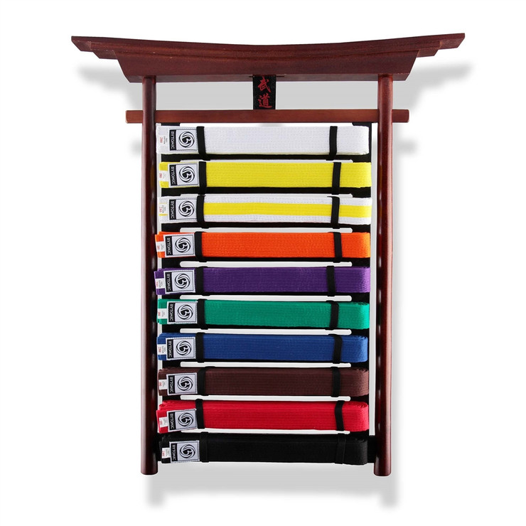 Bytomic Budo Wall Mounted Belt Display Rack